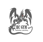 HC GYM logoga top, must