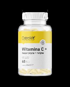 OstroVit Vitamin C + Hesperidiin + Rutiin 60kps