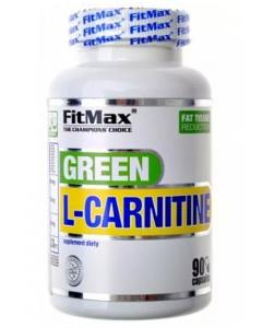 FitMax Green L-Carnitine, roheline tee + l-karnitiin 60kps