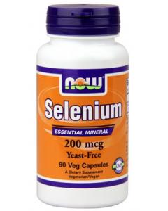 NOW FOODS Selenium 200 MCG, seleen 90kps, TOIDULISANDID, Vitamiinid ja mineraalid
